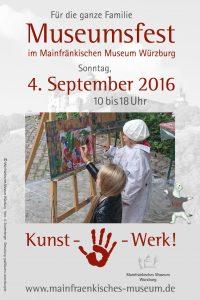 Plakat Museumsfest 2016