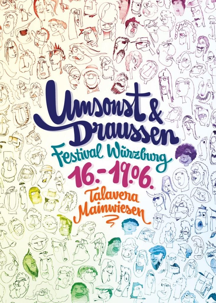 Flyer Umsonst & Draußen 2016