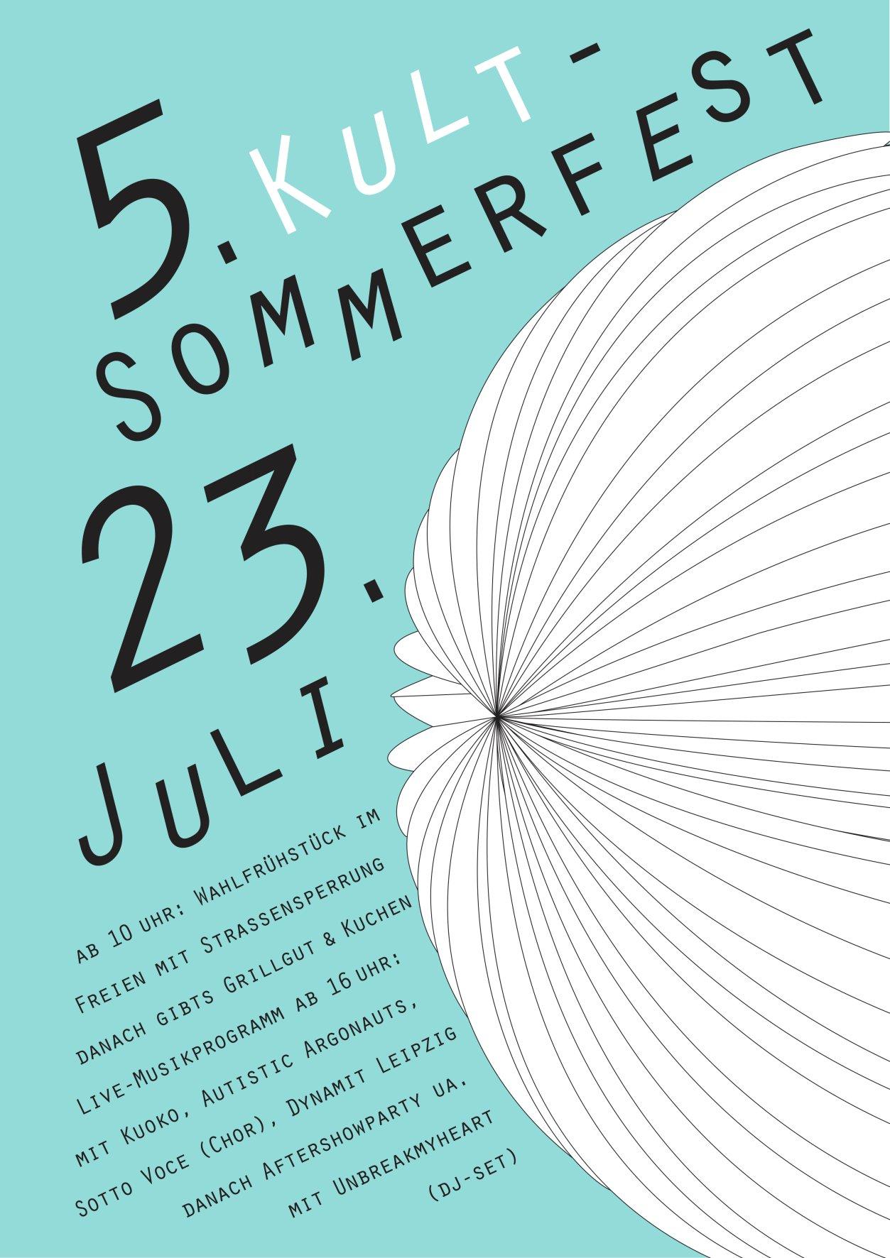 Plakat 5. Kult-Sommerfest