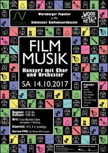 """Plakat """"Filmmusik"""" 2017"""