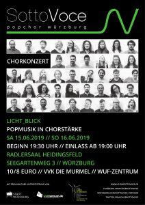 "Plakat ""Licht_blick"""